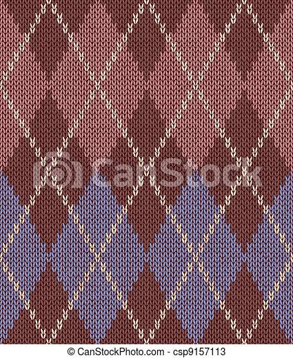 Style Seamless Knitwear Pattern - csp9157113