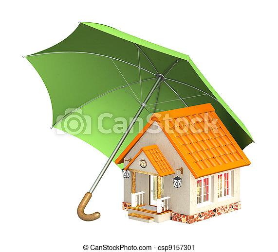 Home insurance - csp9157301