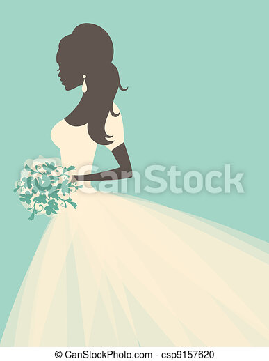 Romantic Bride - csp9157620