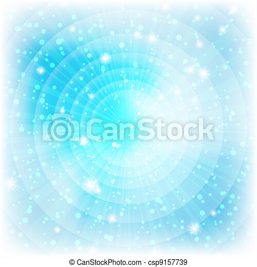 Background, abstract bright blue - csp9157739