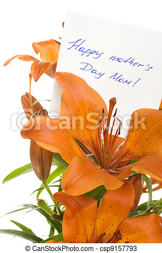 Happy mother Day Mom - csp9157793