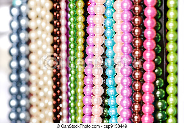 Beads in lines - csp9158449