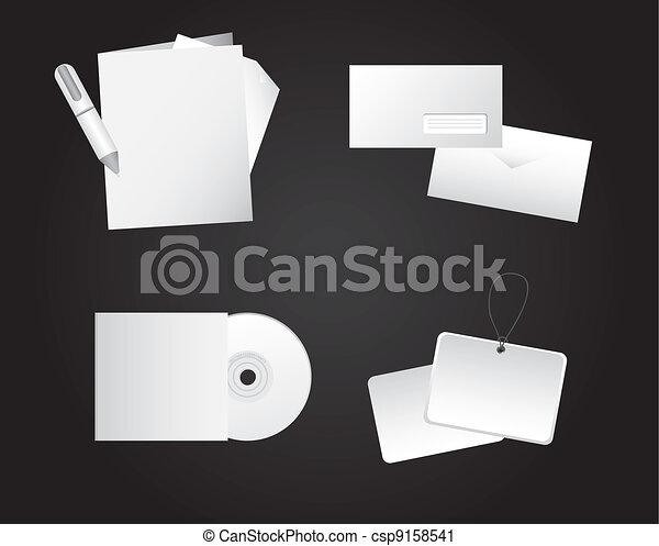 corporate identity - csp9158541