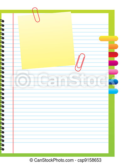 blank notebook - csp9158653