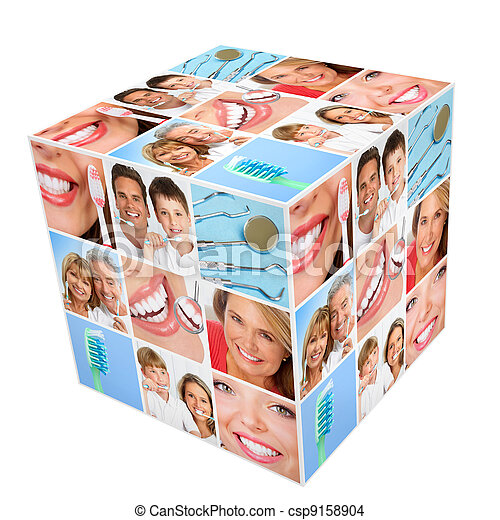 teeth whitening - csp9158904