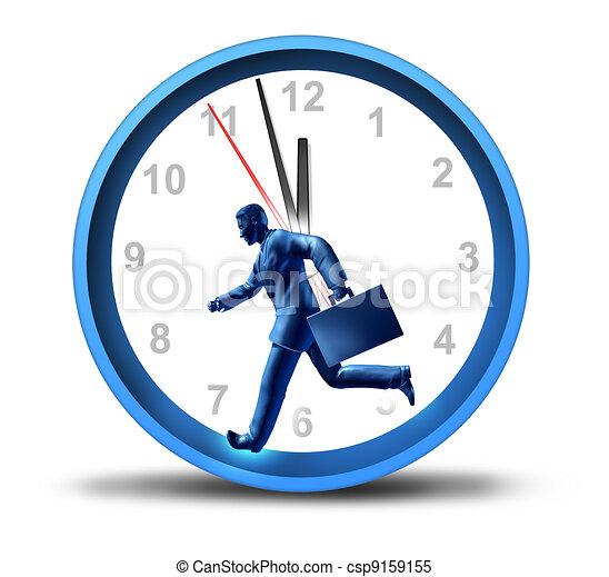 Urgent Business Deadlines - csp9159155