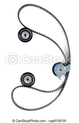 tension pulley and timing belt - csp9159191