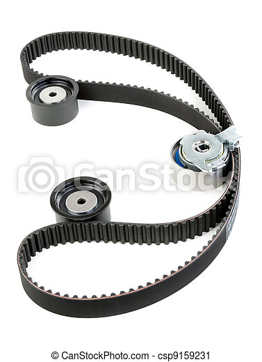 tension pulley and timing belt - csp9159231