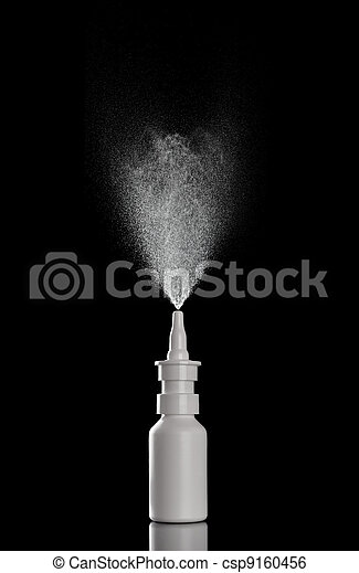spray bottle liquid perfume drop  - csp9160456