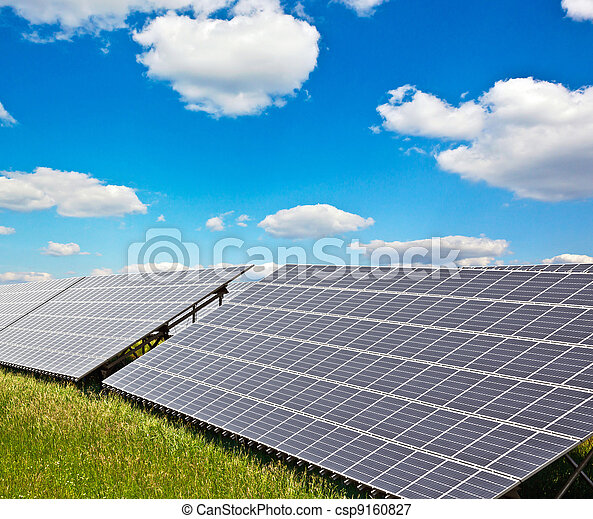 solar power plant - csp9160827