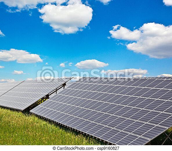 solar power plant - csp9160827