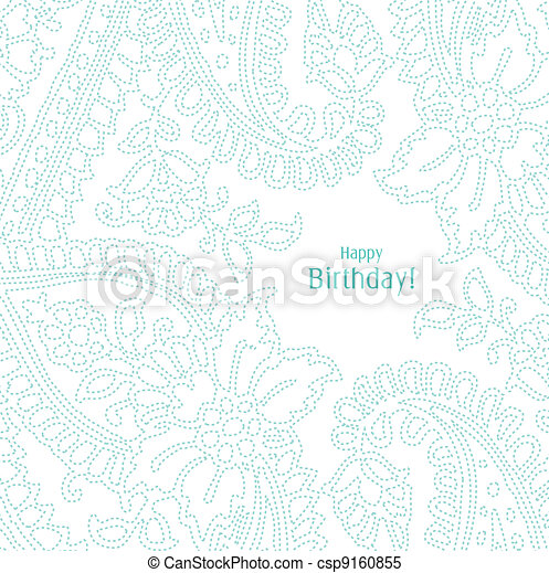 Greeting card with copy space - csp9160855