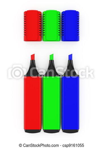 RGB highlighters - csp9161055