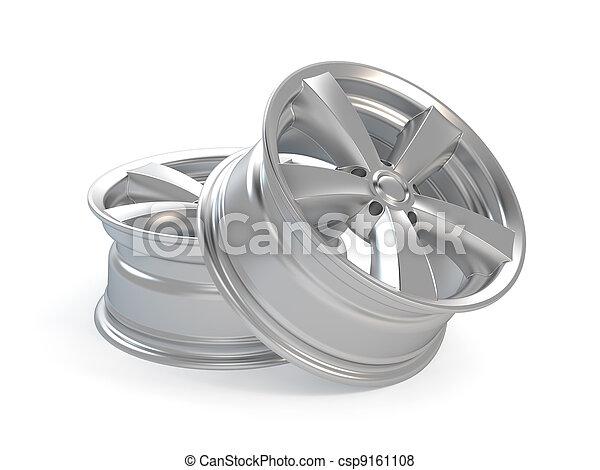 Car Alloy Wheel - csp9161108