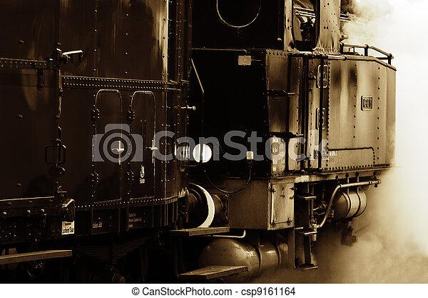 steam locomotive - csp9161164
