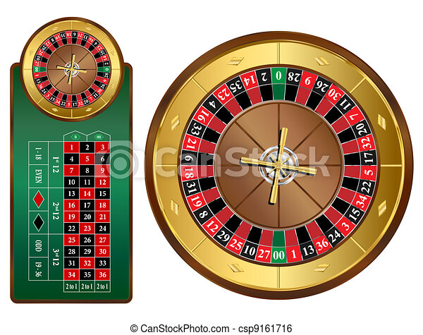 Roulette Wheel - csp9161716