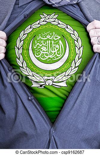 Arab League Businessman - csp9162687
