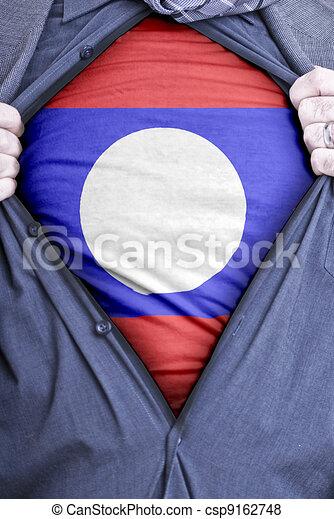 Laotian Businessman - csp9162748