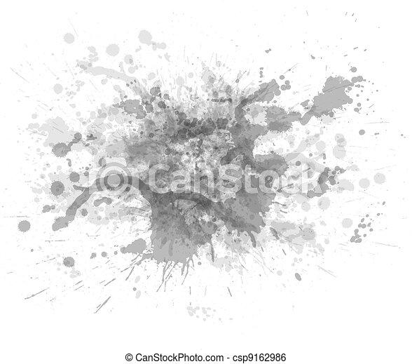 Ink blots - csp9162986