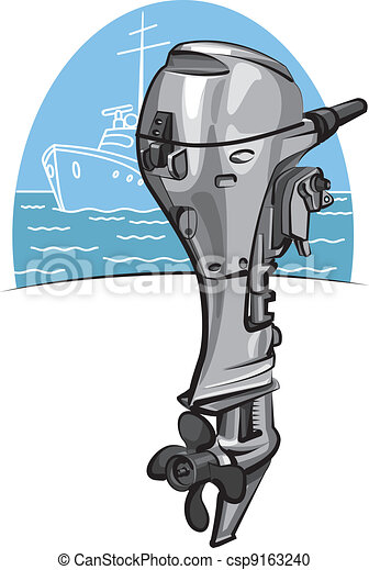 Outboard boat motor - csp9163240