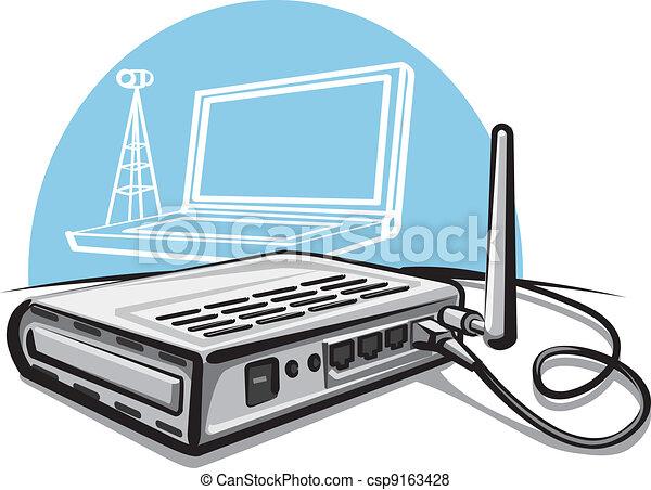 Wireless router - csp9163428
