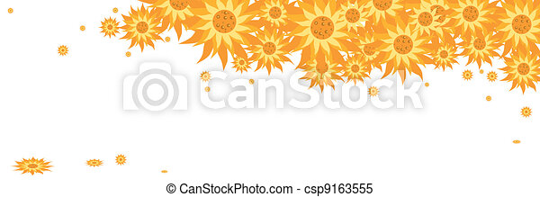 yellow daisy flowers - csp9163555
