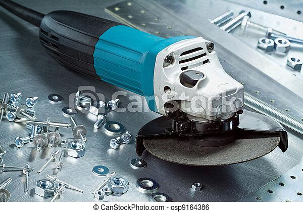 Metal Tools Stock Image - Instant Download - csp9164386