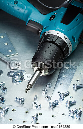 metall verktyg - csp9164389