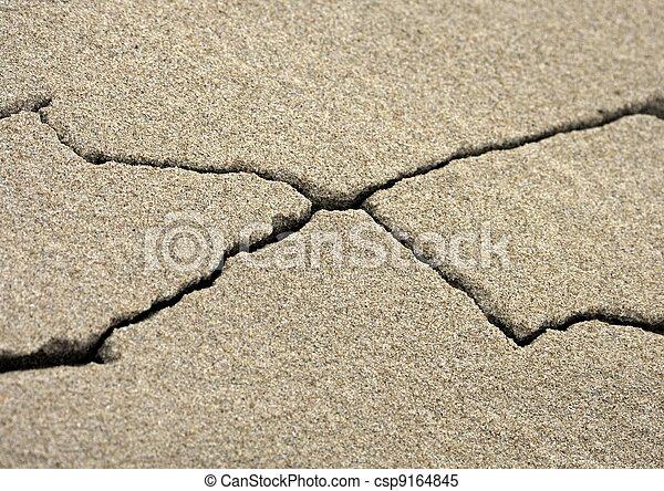 Stock Photo - X marks the spot  X Marks The Spot Sand