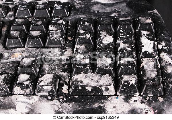 black keyboard - csp9165349