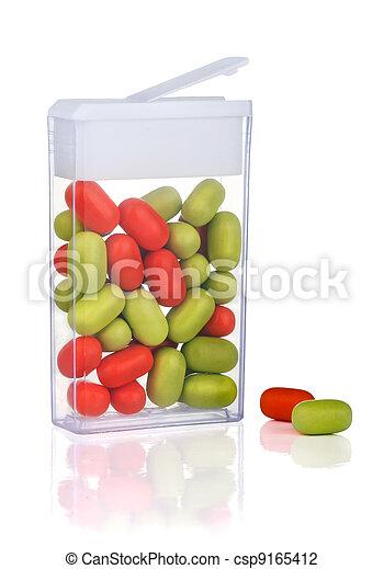Mint candy - csp9165412