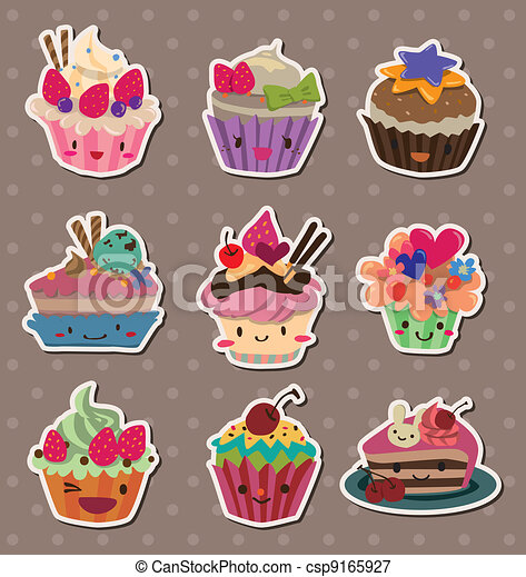 cake stickers - csp9165927