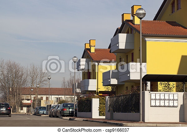 Residential Building - csp9166037