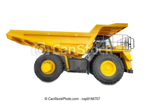 Large haul truck side - csp9166707