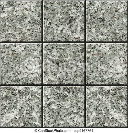 Seamless texture - stone tile - csp9167761