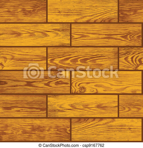 Seamless vector texture - wooden floor - csp9167762
