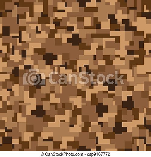 Seamless texture - camouflage - csp9167772
