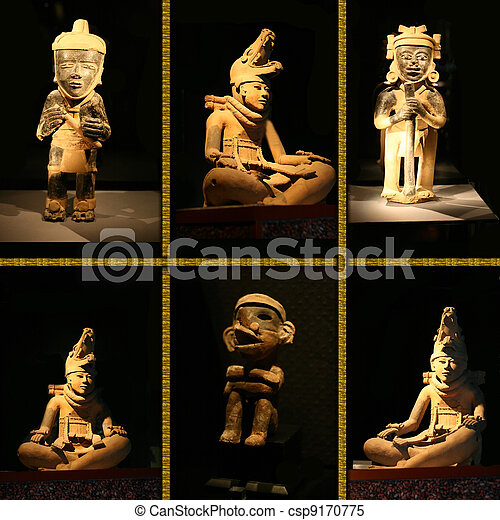 Mystery of The Maya - csp9170775