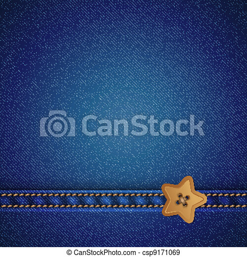 denim vector background - csp9171069