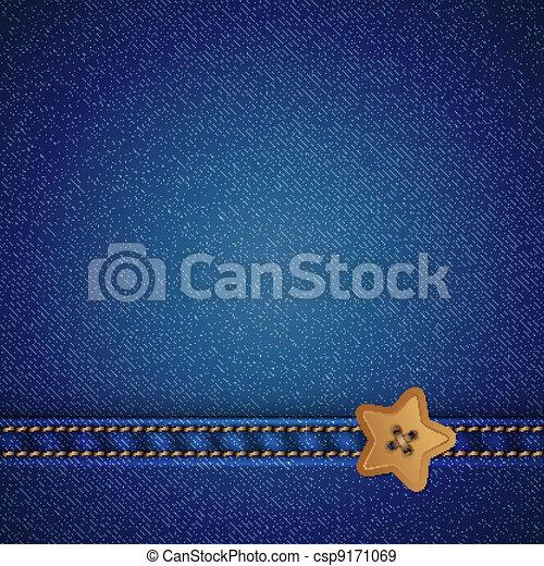 denim vector background - csp9171069