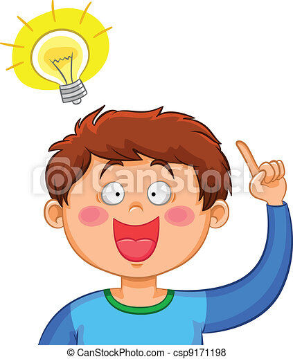 Clip Art Idea Clip Art idea illustrations and clipart 806633 royalty free 3d small people clipartby anatolym32414925 an boy coming up with a good idea
