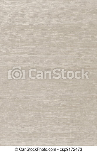 Beige crumpled paper texture natural textured background - csp9172473