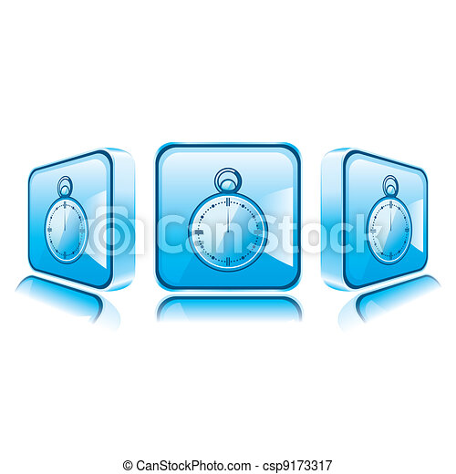 Application icons for Smart Phone isolated on white background. - csp9173317