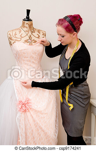 Dressmaker - csp9174241