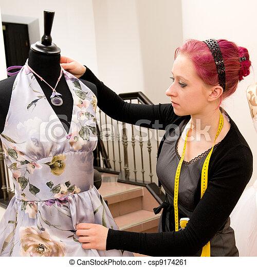 Dressmaker - csp9174261