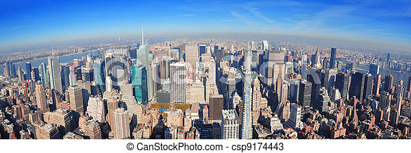New York City skyscrapers - csp9174443