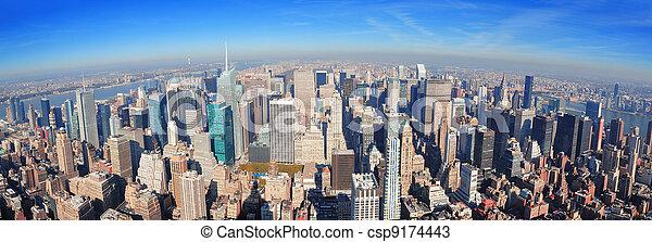 New York City skyscrapers - csp9174443