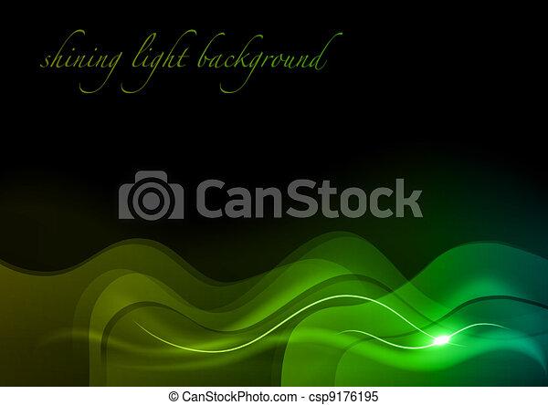 green waves - csp9176195