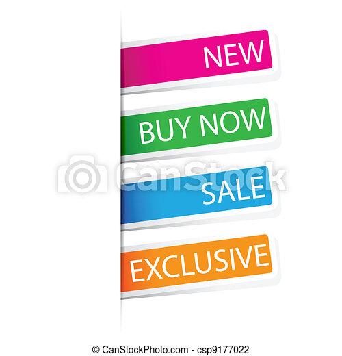 Selling Sticker - csp9177022