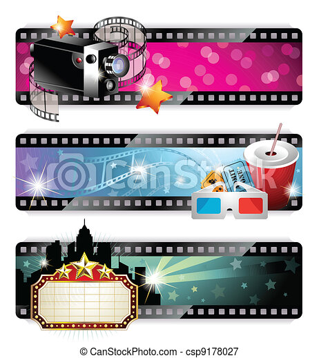 Cinema Banners - csp9178027